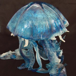 Blue Light Jellyfish